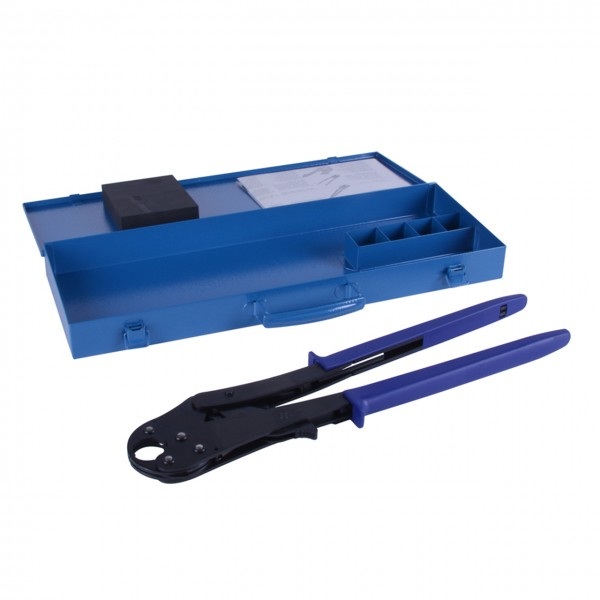 Manual crimping pliers